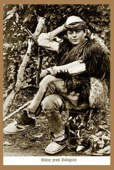 Boy from Dukagjin, a mountainous region in northern Albania.