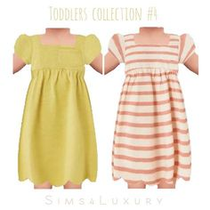 Sims4Luxury: Toddlers collection 4 • Sims 4 Downloads