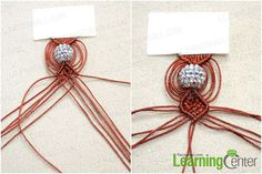 repeat the 2nd procedure to complete the netted pattern