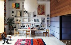 Home: Eleven Inspiring Gallery Walls (via Gallery Walls | ReDesigning Sarah)