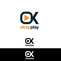 okay play logo by Tim-studio