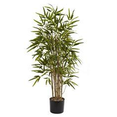 Nearly Natural Twiggy Bamboo Silk Tree | Jet.com