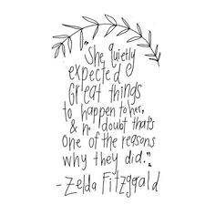 by Zelda Fitzgerald. I hope everyone has a lovely day ✨ #laurasupnikart