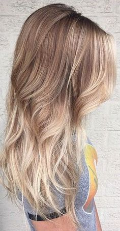 ombre haar 35 Soft, Subtle and Sophisticated Sombre Hair Color Ideas - Part 35 Sombre Blond, Sombre Hair Color, Dark Ombre Hair, Blonde Balayage Highlights, Ash Blonde Hair, Auburn Hair With Highlights, Hair Color Techniques, Cool Hair Color, Cool Hairstyles