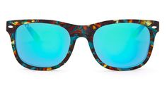 KOTA - MOTLEY FRAME - BLUE MIRROR LENS - DIFF Eyewear