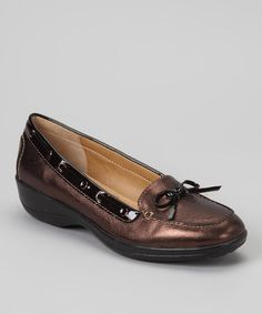 Take a look at this Copper Ally Boat Shoe by Softspots on #zulily today!