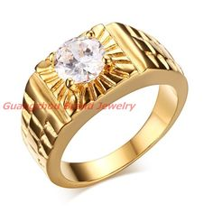 High Quality Womens Girl Ring  Gold Platd 316L Stainless Steel Womens Jewelry Silver Color Charmimg Ring For Xmas Gift