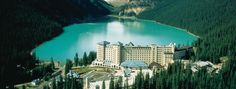 The Fairmont Chateau Lake Louise, Located in the heart of Banff National Park and within a UNESCO World Heritage Site, The Fairmont Chateau Lake Louise is recognized globally for progressive environmental stewardship and responsible tourism.  Alberta Canada