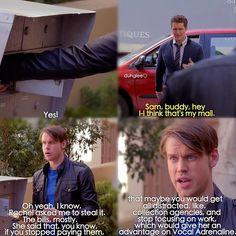 """#Glee 6x04 """"The Hurt Locker, Part One"""" - Will and Sam"""