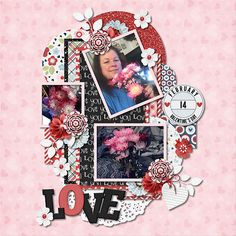 Template:  Ibiza Nights 2 – templates 2 and 4 By Miss Mel   Kit: Stupid Cupid Bundle by JSS