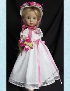 "Heirloom Ensemble for Effner 13"" Little Darling Dolls-Petite Princess Design"