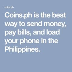 ph is the best way to send money, pay bills, and load your phone in the Philippines. Gifts For An Artist, Bitcoin Wallet, Philippines, How To Make Money, Coins, Events, App, Digital, Phone