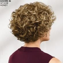 Brit WhisperLite® Wig by Paula Young® - Short Hair Styles Short Curly Bob, Short Pixie Haircuts, Haircuts With Bangs, Curly Bob Hairstyles, Short Hairstyles For Women, Easy Hairstyles, Curly Hair Cuts, Short Hair Cuts, Curly Hair Styles