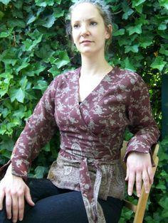 Farb- und Stilberatung mit www.farben-reich.com - Bluse Karuna von Para Ti - fashion design auf DaWanda.com