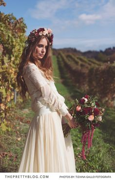 Vintage in the Vineyards | Styled Shoots | Wedding Floral Inspiration | Photography by Tiziana Gallo Fotografa