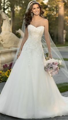 Stella York Wedding Dresses - Search our photo gallery for pictures of wedding dresses by Stella York. Find the perfect dress with recent Stella York photos. 2015 Wedding Dresses, Wedding 2015, Wedding Attire, Bridal Dresses, Wedding Gowns, Wedding Blog, Wedding Ideas, Dresses Dresses, Wedding Stuff