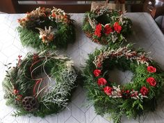 Christmas Wreaths, Holiday Decor, Home Decor, Decoration Home, Room Decor, Advent Wreaths, Interior Decorating