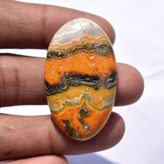 Your place to buy and sell all things handmade Natural Gemstones, Jasper, Bee, Shapes, Oval Shape, Unique Jewelry, Handmade Gifts, Etsy, Vintage
