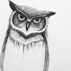 Pen sketch (Lindsay Pace)