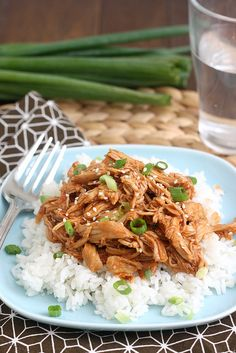 Slow Cooker Honey Sesame Chicken by Tracey's Culinary Adventures