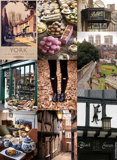 York Moodboard by The slow pace