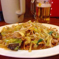フライ麺( ̄(エ) ̄)v