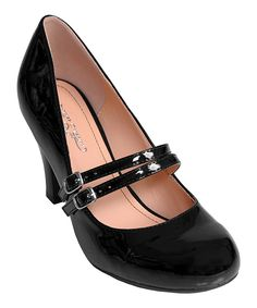 Black Patent Wendy Mary Jane Pump | Daily deals for moms, babies and kids