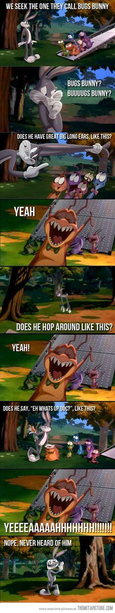 Troll Bugs Bunny - The Meta Picture