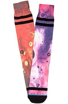 Stance Socks Socks Submarine Socks in Multi Orange and Purple