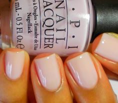 OPI Care to Dance? The perfect nude.
