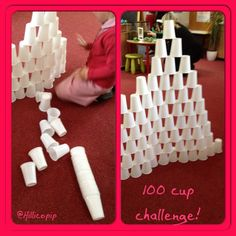 Cheap, easy and amazing! My class have had hours of entertainment from this.... Challenging themselves and others, working in teams and much more Eyfs Activities, Motor Activities, Classroom Activities, Activities For Kids, Preschool Centers, Preschool Education, Physical Activities, Construction Area Ideas, Early Years Maths