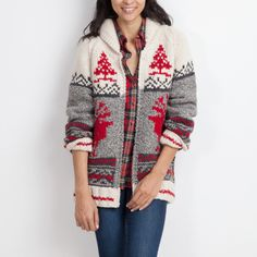 The Roots X Mary Maxim Reindeer Sweater