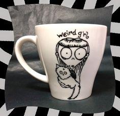 Tim Burton Beetlejuice mug