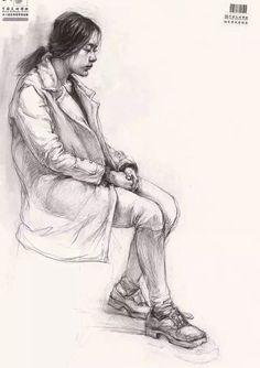 eyma A fig r Body Drawing, Anatomy Drawing, Life Drawing, Figure Sketching, Figure Drawing, Pencil Art Drawings, Art Sketches, A Level Art, Drawing Reference Poses