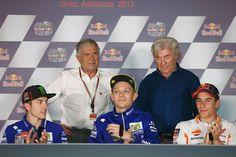 Vale, Maverick Vinales, Giacomo Agostini, Angel Nieto & Marc Marquez