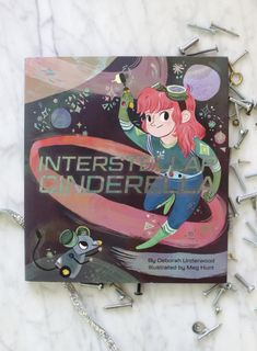 Interstellar Cinderella - a futuristic, more bad-ass version of the fairytale