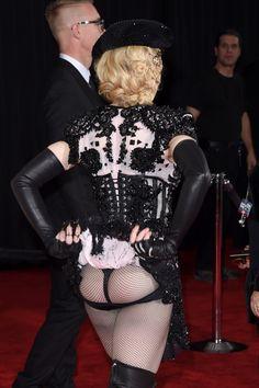 Madonna's behind