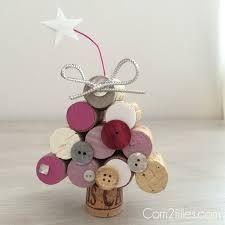 Wine cork ornaments ~ Christmas #winecorkcrafts