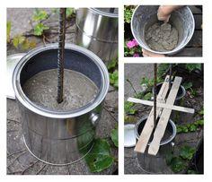 Diy Concrete Mesh Rebar Garden Trellis
