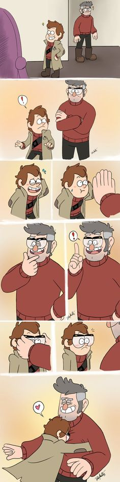 So Bill here decided to be his usual douchy self and torture the secrets of the force field surrounding Gravity Falls out of his newest trophy after making him a fragile meatsack again. It didn't g...