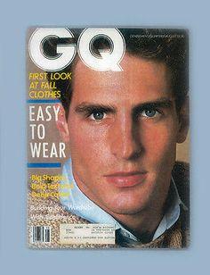 GQ MAGAZINE-AUGUST 1983-FALL CLOTHES SANTA FE TAOS-SCOTT CONNELL-CATHY IRELAND | eBay