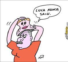 Lula nunca saiu do Governo