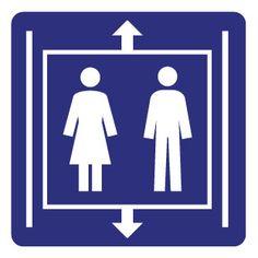 Hinweis piktogramme - Aufzug Aufkleber bestellen? :: Dr.Sticker