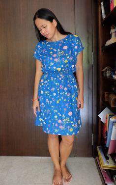 Nani Iro Staple dress. Pattern by April Rhodes.