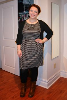 NYC Recessionista: What NYC Recessionista Wears: polka dot dress