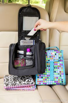 Make travel storage a cinch with these road trip staples!