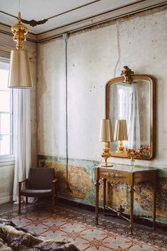 Two Faces, Wabi Sabi, Provence, Oversized Mirror, Two By Two, Pride, Shabby, Orange, Country