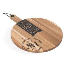 Tabla de madera para cortar 15 x 28 cm TASTY