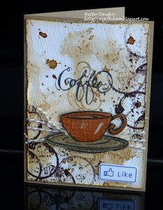 Another day in coffe blog hop land! Have you added your card to the hop to win some awesome prizes? Well,you find all info HERE . ...