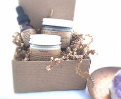 Anti-Aging Skincare Set / Nefertiti Organic by CrystalSensation